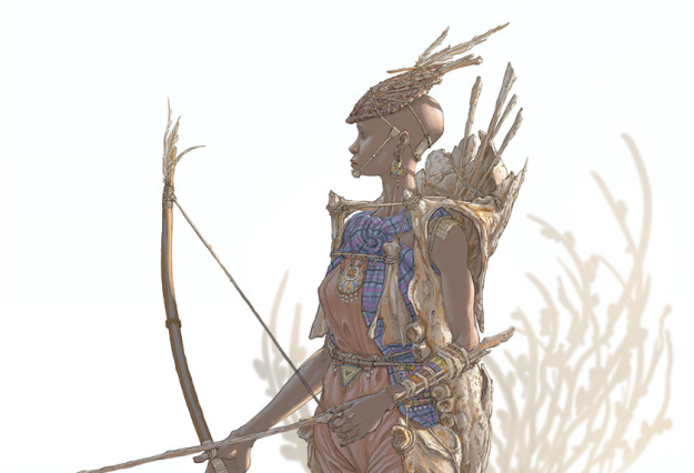 hendrik-visser-female-masai-warrior